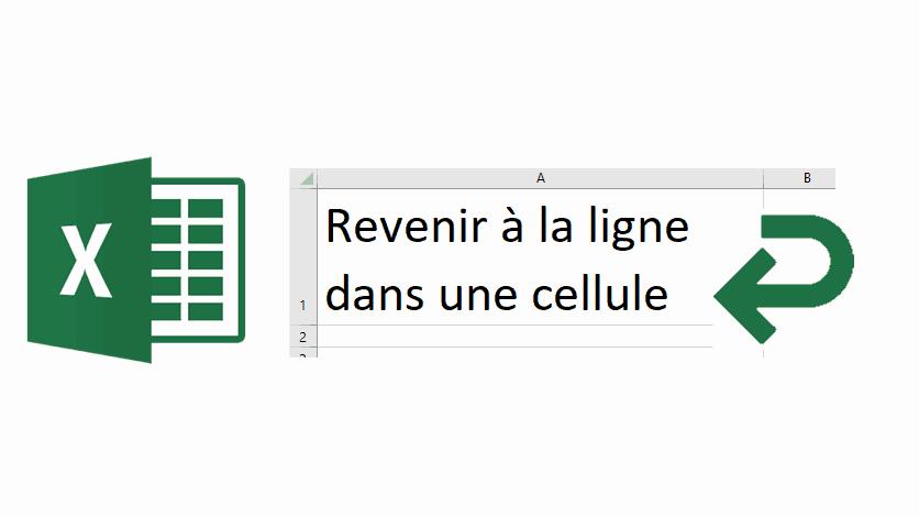 Revenir à la ligne dans Excel