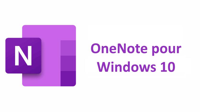L'essentiel de OneNote pour Windows 10