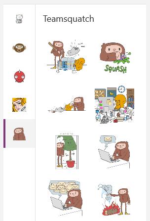 OneNote - stickers